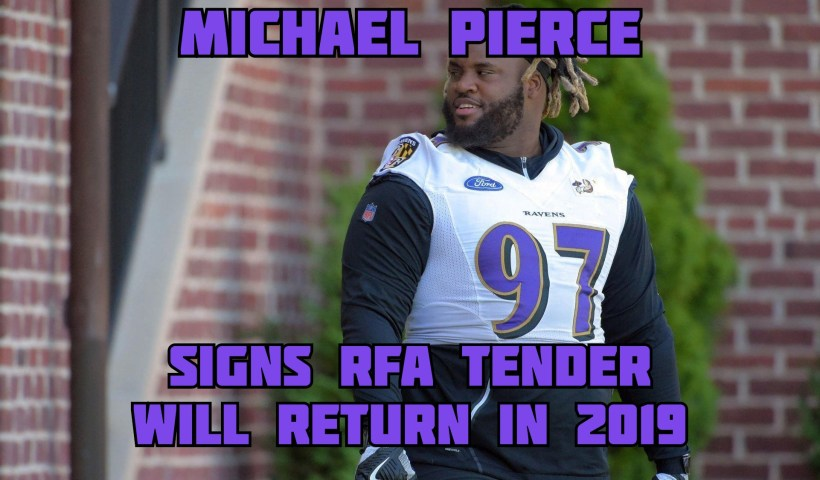 Michael Pierce Ravens