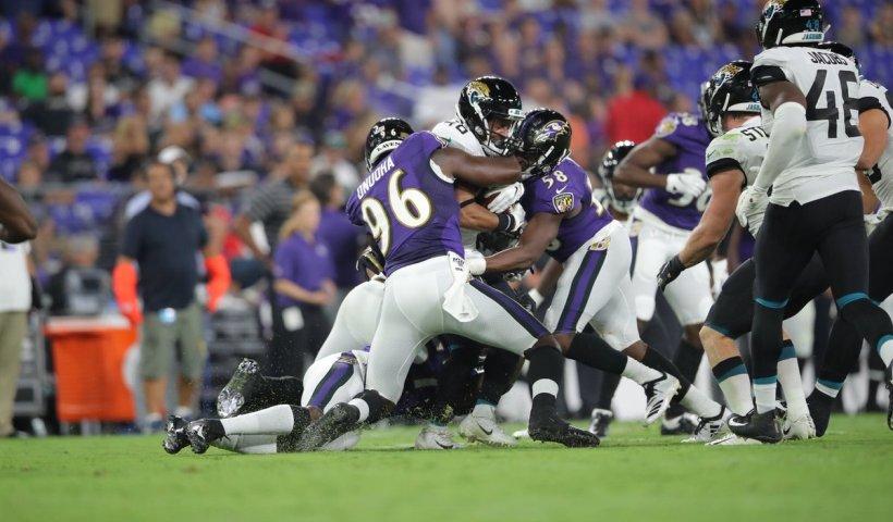 Michael Onuoha Ravens cut