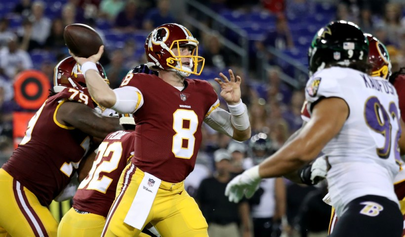 Ravens Redskins Preseason 2019