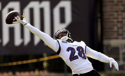Justin Bethel Ravens Comp Pick