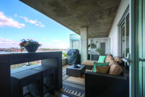 Baltimore Fishbowl Featured Listing Silo Point Condo With