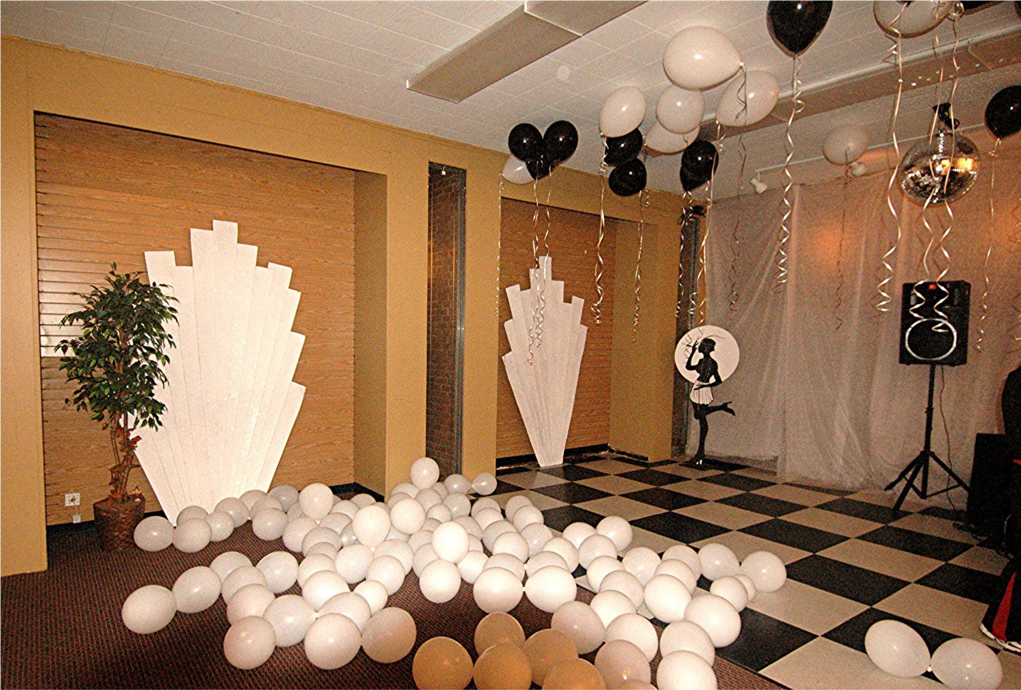 Retro Black  White Art Deco  Baltimores Best Events