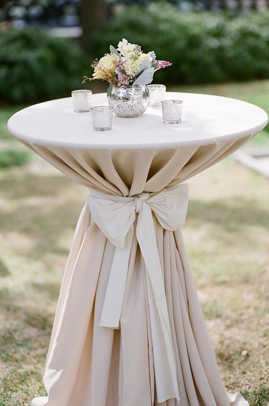 Table Haute Jardin Palette