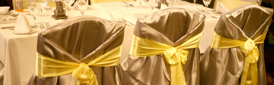 chair cover rentals baltimore md karlstad uk linens s best events silver yellow sash2