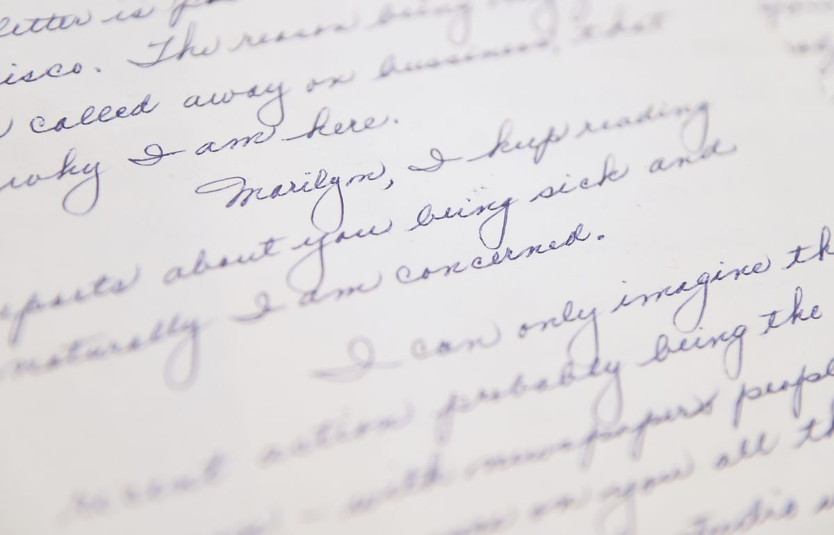 Love letters from World War II reveal promises made and