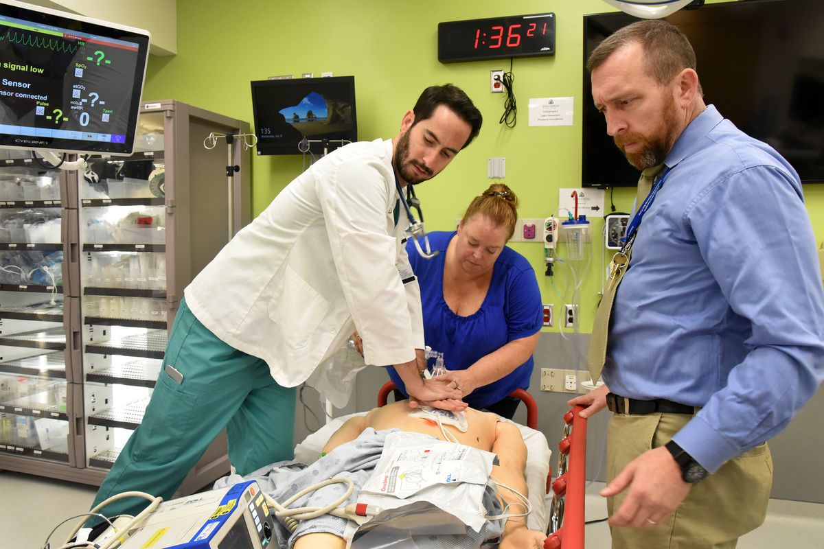 Johns Hopkins facility offers real world training in simulated ...