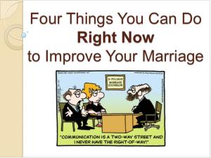 marriage seminars
