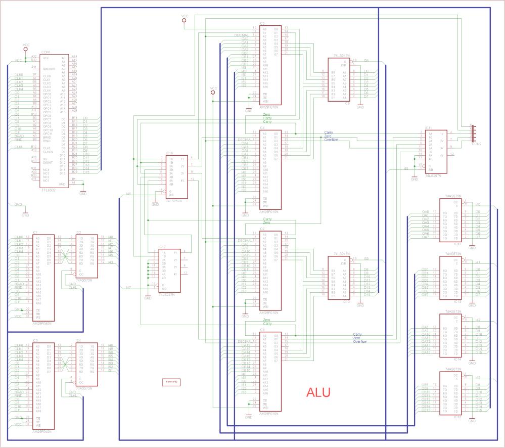 medium resolution of a 16 bits alu