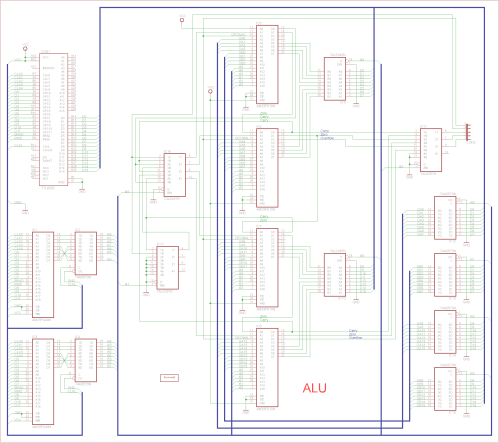 small resolution of a 16 bits alu