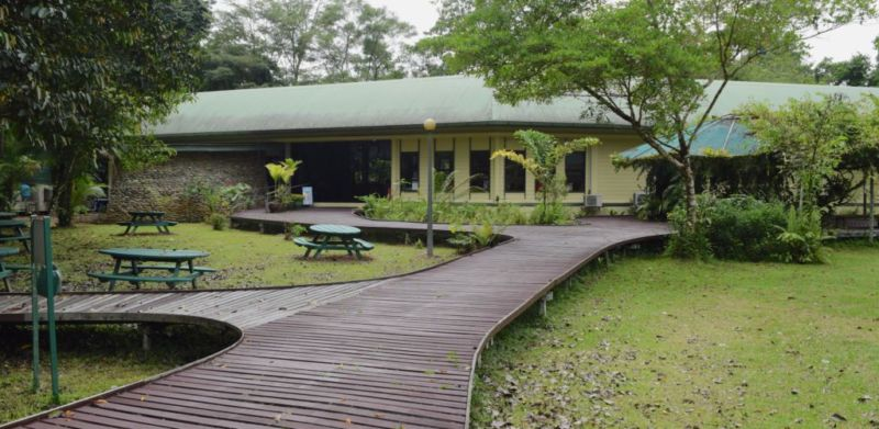 Mulu National Park HQ Building @2015