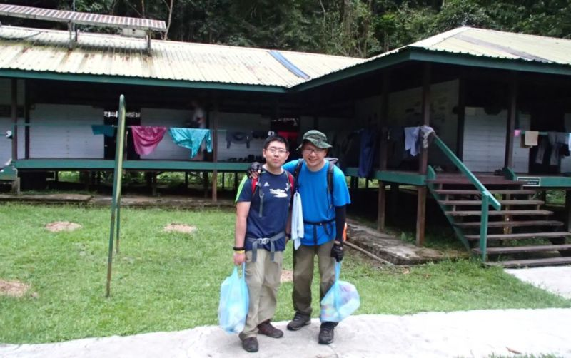 Arrival at Camp 5 @2015