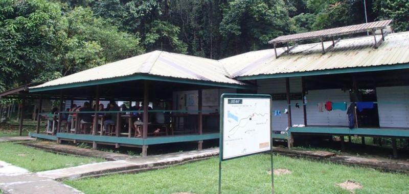 Camp 5, dinning area @2015