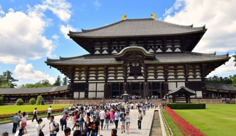 Nara main attraction: Todaiji Temple @2015
