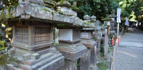 Stone lanterns at Kasuga Grand Shrine, Nara
