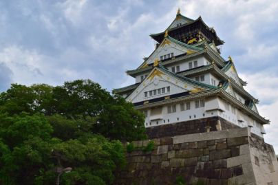 Osaka Castle Main Tower (viewed from north of castle)