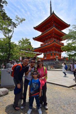 Three-Storied Pagoda, Kiyomizu-dera, Kyoto
