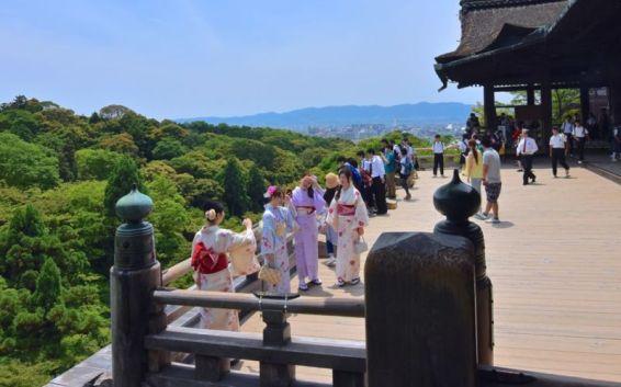 Kiyomizu Stage, Kiyomizu-dera, Kyoto