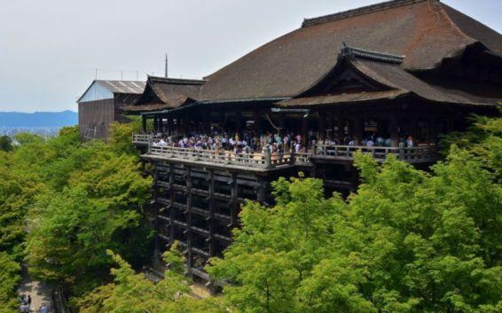 View from Okunoin Hall, Kiyomizu-dera, Kyoto