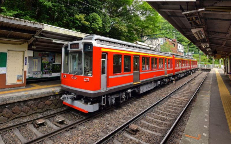 Hakone tozan train
