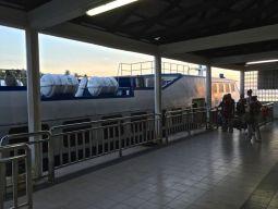 Boarding ferry, Mersing Jetty, Johor, Malaysia