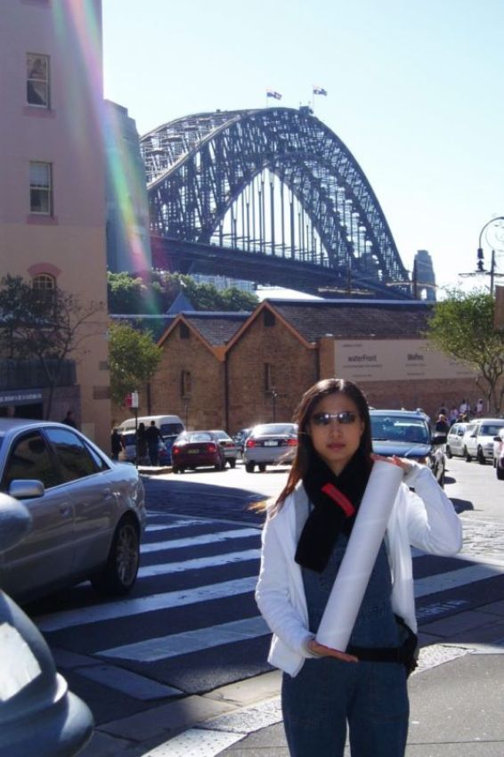 Harbour Bridge viewed from The Rocks