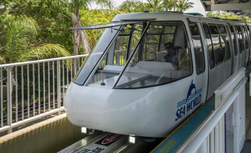 Keep the kids entertained with a 2km ride on Australia's first monorail.