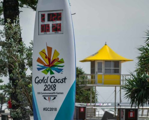 Gold Coast will host the XXI Commonwealth Games in 2018.