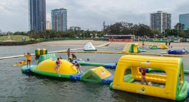 AquaSplash: Serious open-water fun for all ages (from as young as 1 years old)