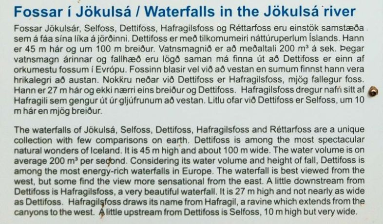 Write-up of the Jökulsá River