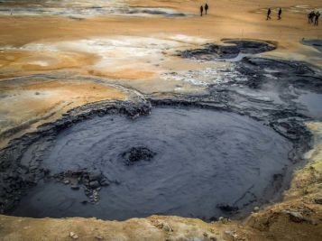 Boiling mudpools at Hverarondor Hverir
