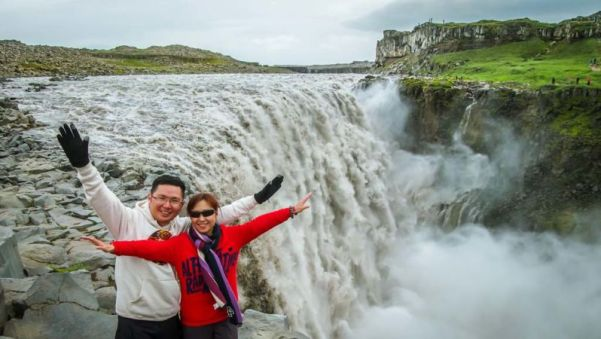 Dettifoss: Europe's most powerful waterfall. (Accessed via Road#864)