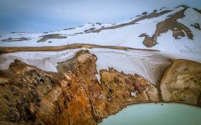 Askja: Viti crater (foreground) (Jun-2014)