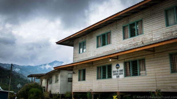 School in Bario (Sarawak, Malaysia)