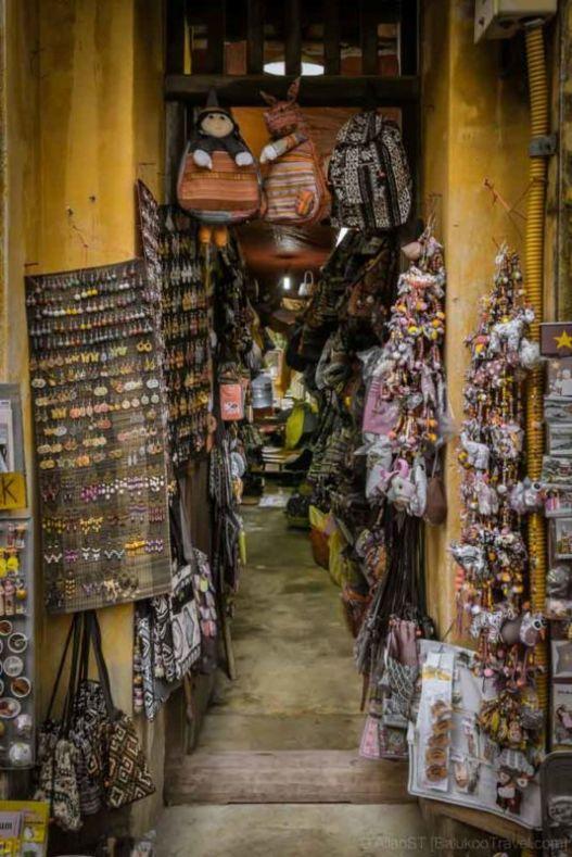 Small alley shop. Hoi An Ancient Town. (Da Nang, Vietnam)