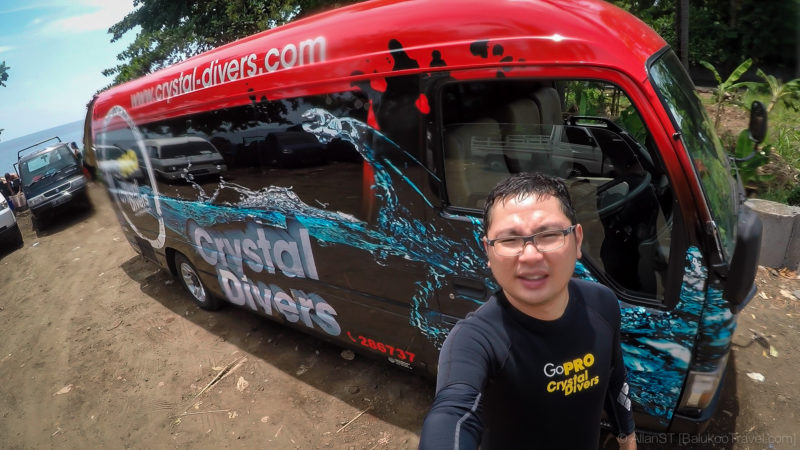 Bus of Bali Crystal Divers
