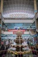 Water fountain in Dong Xuan Market (Hanoi, Vietnam)