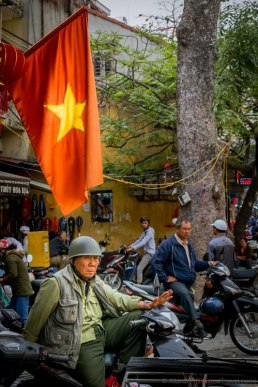 Sights around Hanoi Old Quarter (Vietnam)