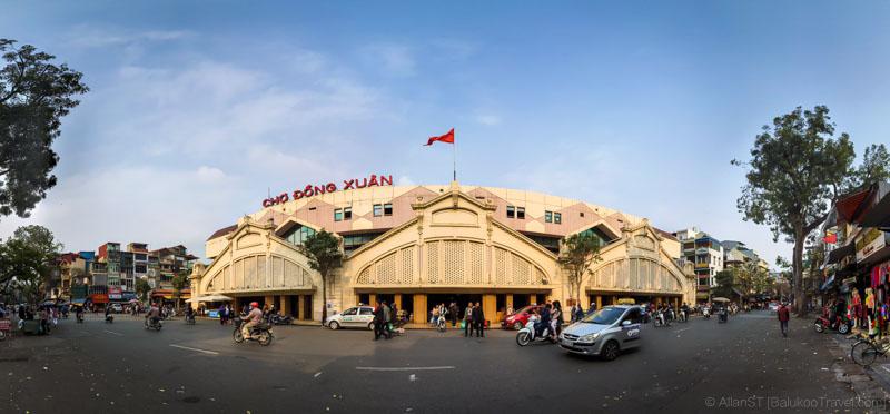 Hanoi's Dong Xuan Market (Vietnam)