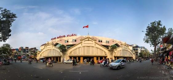 Dong Xuan Market (Hanoi, Vietnam)