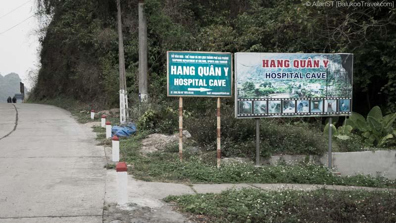 Entrance to Hospital Cave (Cat Ba Island, Vietnam)