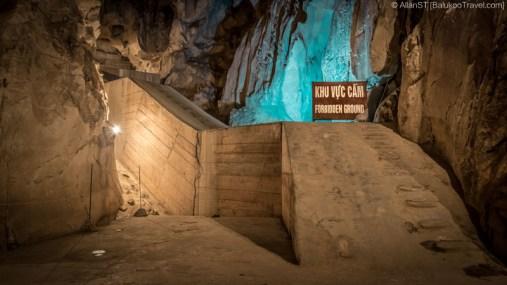 Vietnam War era tunnels in Hospital Cave (Cat Ba Island, Vietnam)
