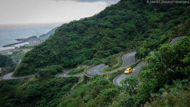 Jin Suei Highway, Jinguashi (Taiwan) @2016