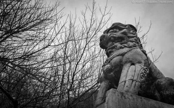 Sculpture at Tianxiang Recreation Area (天祥), Taroko Gorge (Hualien, Taiwan)