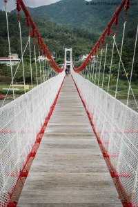 Pingtung Manchurian Port Drawbridge (屏東滿州港口吊橋), Kenting National Park (Taiwan)