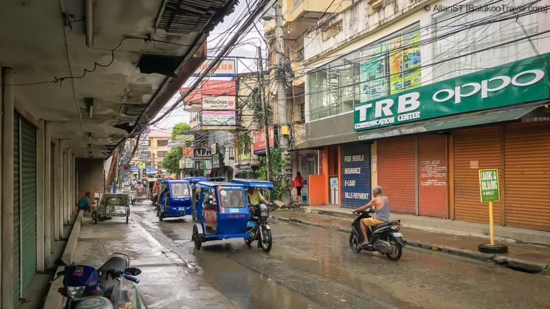Main road at Boracay (Philippines) @Sep2017