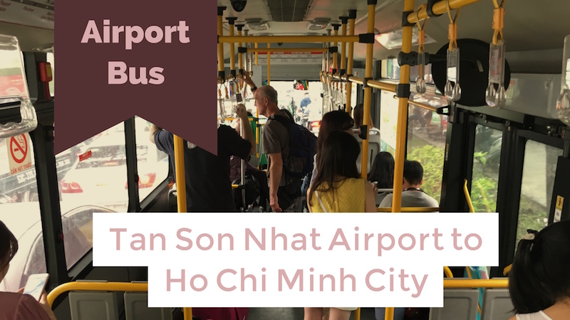 Airport Bus to Ho Chi Minh City
