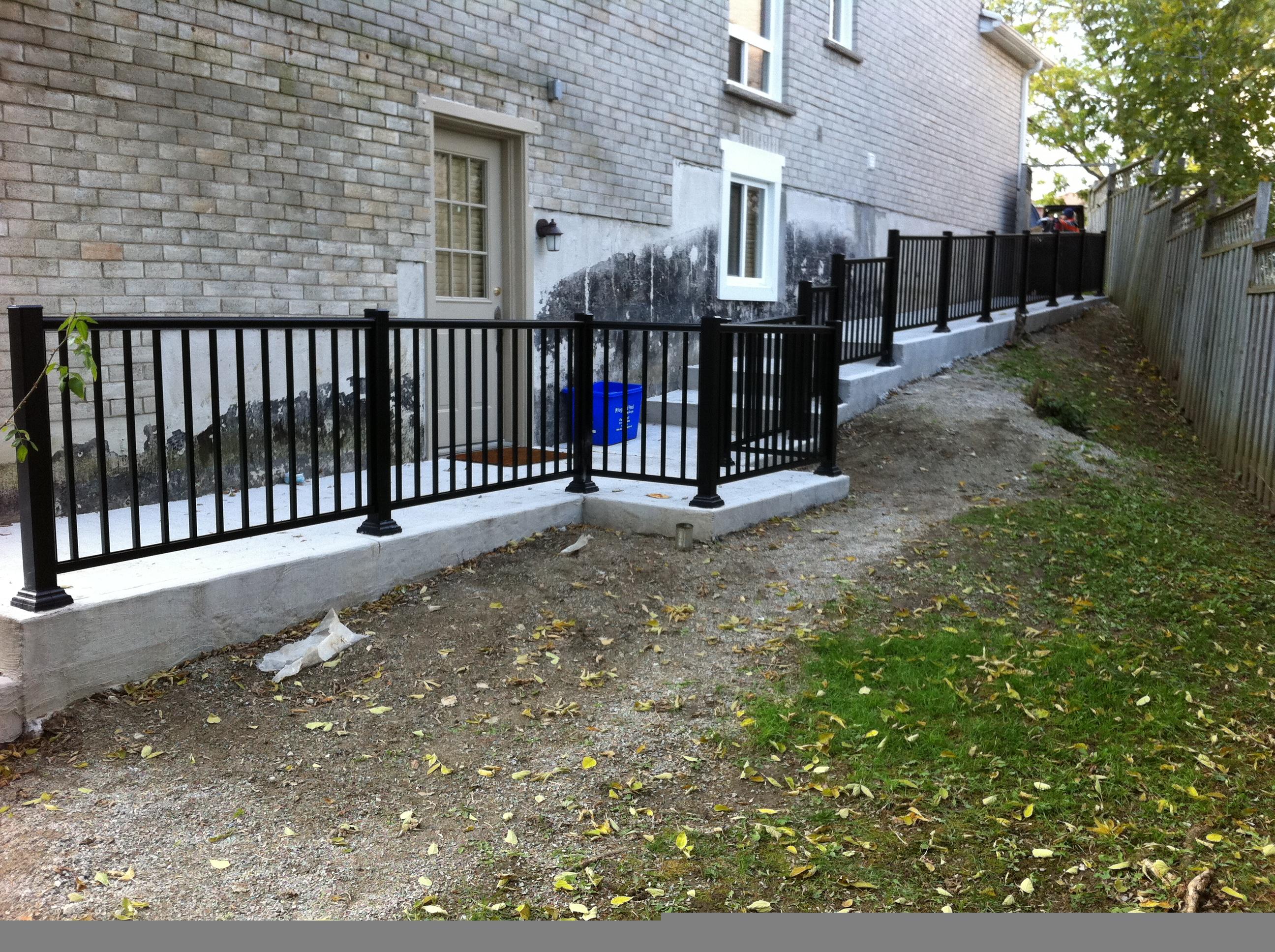 Pictures of aluminum railingsfenceawnings doors
