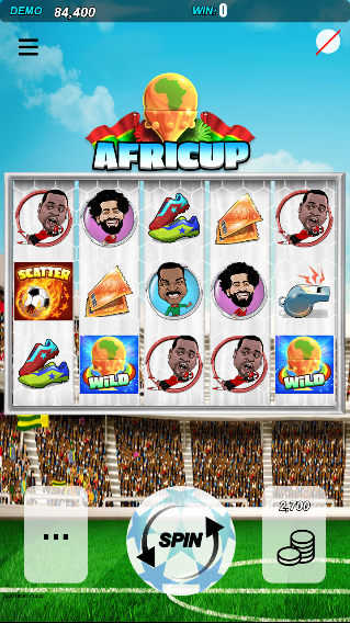 Africa Cup Slot Machine