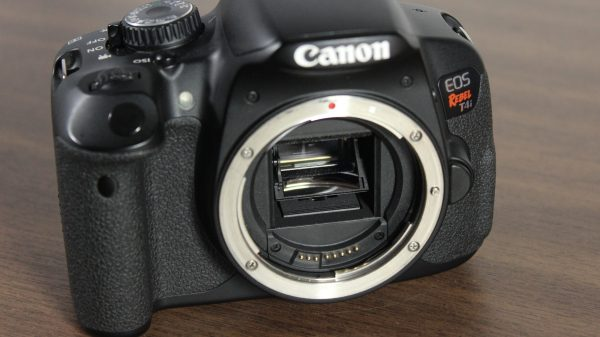 Used Canon EOS Rebel T4i - Mirror assembly