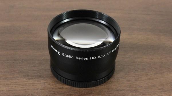 Ultimaxx 55mm 2.2x Professional Telephoto Lens